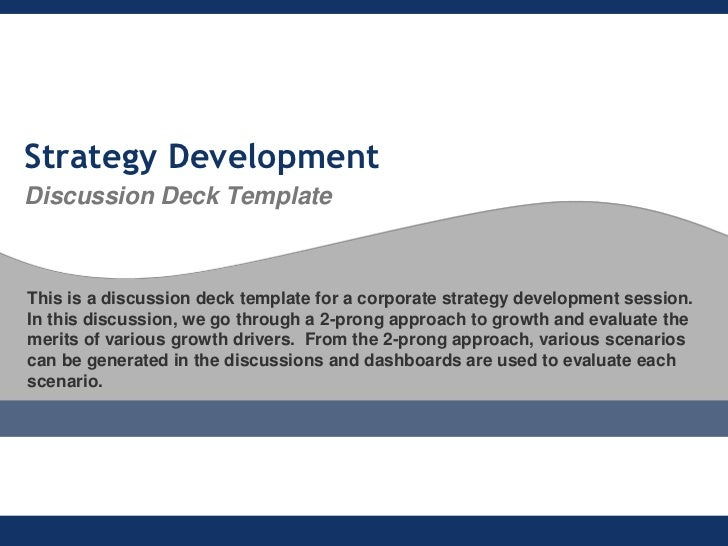 flevycom strategy development discussion deck