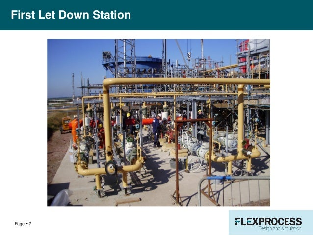 Natural Gas Letdown Station