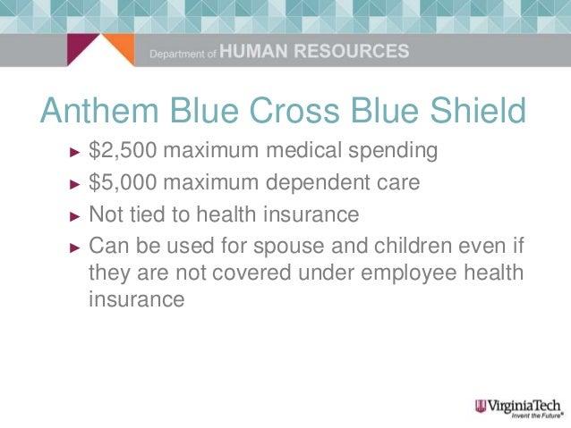 Virginia Tech - New Employee Orientation - Flexible Spending