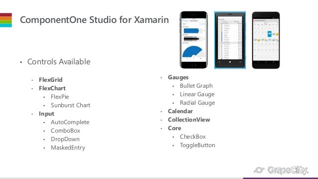FlexGrid 101 for ComponentOne Studio for Xamarin