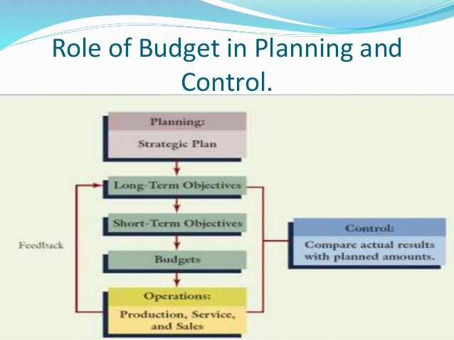 budgeting as a tool for planning and control The purpose of this study is to examine how budgeting and budgetary control has been used as a tool for effective managerial planning and control in organizations in the hotel industry.