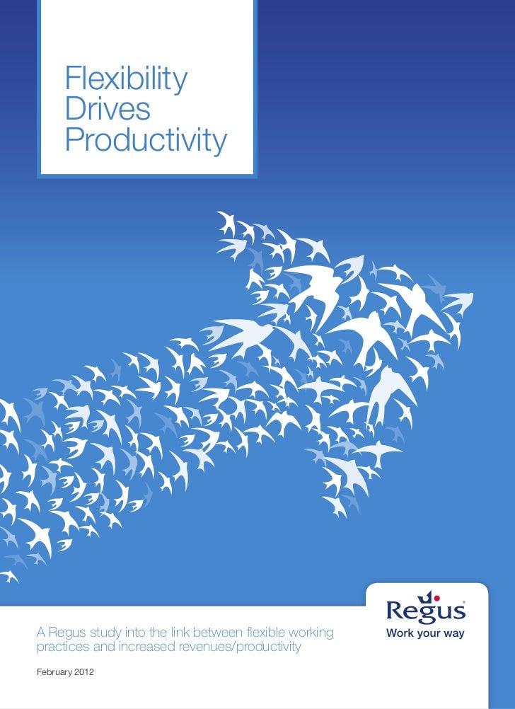 Flexibility Drives Productivity Slide 2
