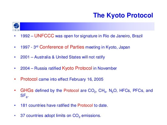 pros and cons of kyoto protocol essay Kyoto protocol minako ito & hayato ishida  pro : positive effects slows  ghg emissions and global warming  con : not ratified by developed and  industrial countries  college prep: writing a strong essay.