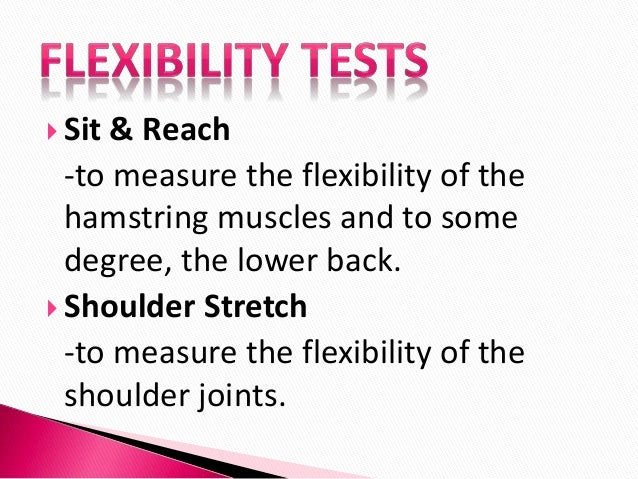 how to measure the sit and rwach test