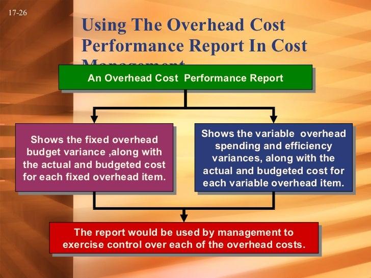 Flexible Budgets & Overhead Costs