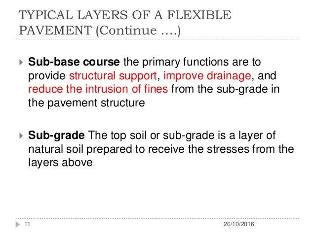 Flexible Pavement Presentation