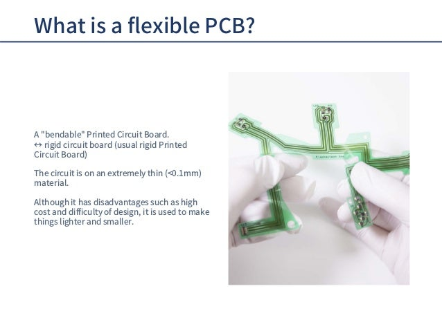 Flexible PCB for beginners