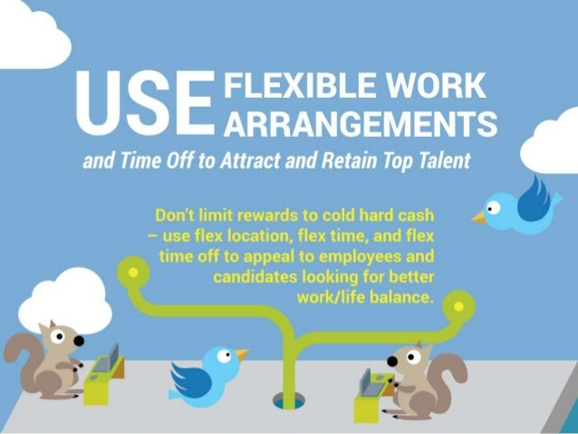 Use Flexible Work Arrangements and Time Off to Attract and Retain Top Talent