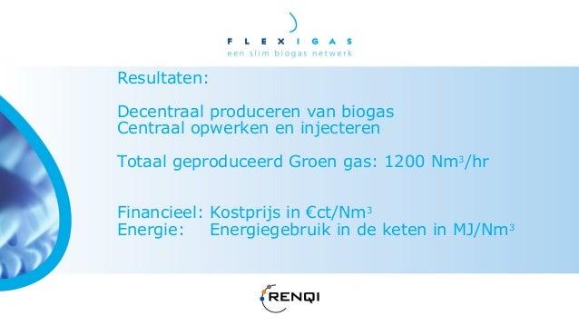 ConclusiesGeen voordeel wat betreft het energiegebruik voor deconfiguratie met decentrale vergisters.Schaalvoordeel voor d...