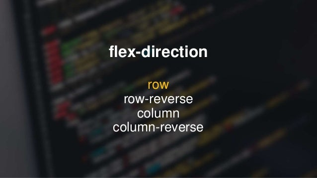 flex-wrap nowrap wrap wrap-reverse