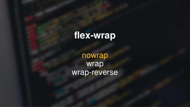 flex-flow flex-direction flex-wrap flex-flow: row-reverse wrap;