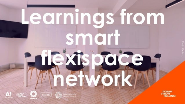 Photo:Pixabay Learnings from smart flexispace network