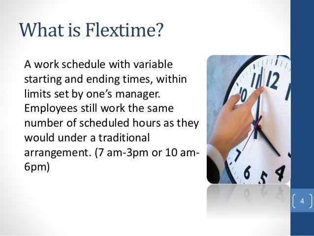 an analysis of the benefits of flextime work schedules Advantages and disadvantages of flexible work schedules by  working in a flexible schedule can provide considerable benefits to  also called as flextime or.