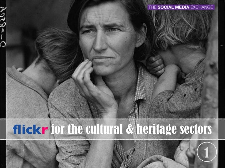flickr for the cultural & heritage sectors                                        1