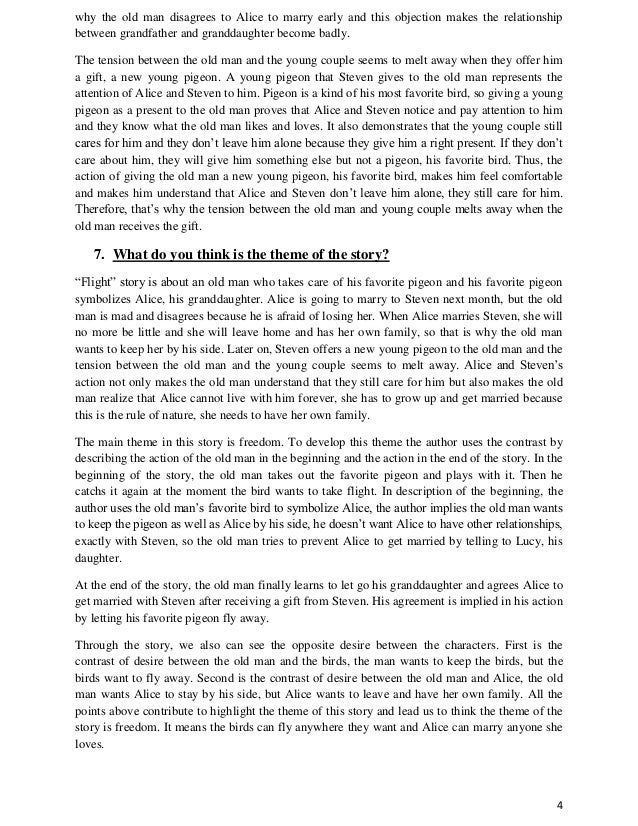doris lessing flight essay Gcse english flight study guide youtube - duration: 4:34 teacherinmypocket 682 views · 4:34 · paper slides - through the tunnel - p 1 - duration: 1:08 tchrhays 147 views · 1:08 the nightingale and the rose by oscar wilde created by arun kumar a r - duration: 5:56 arun kumar ar 58,785 views.