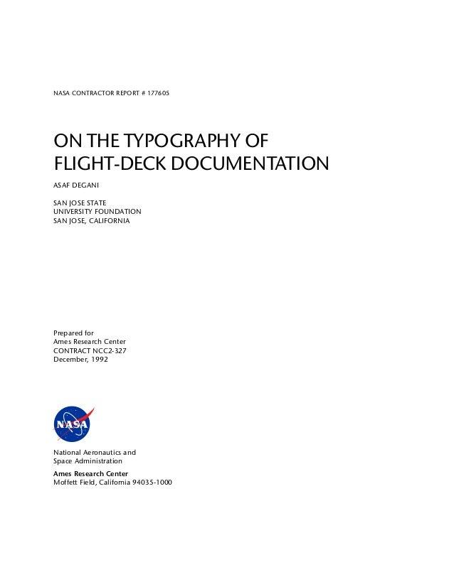 NASA design recommandation Slide 2
