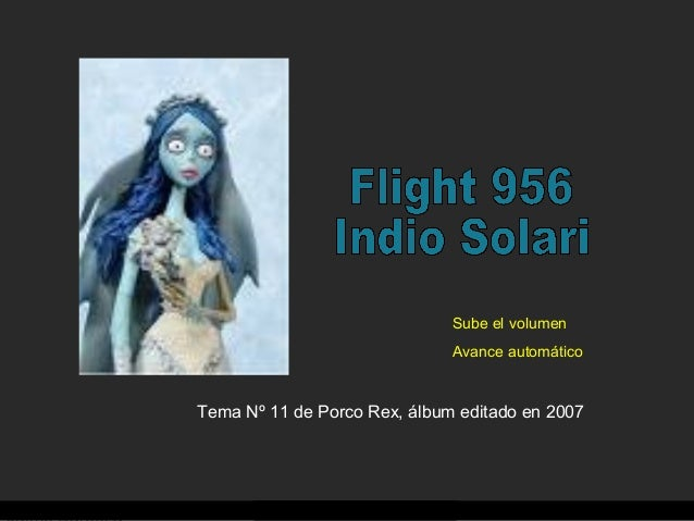 Tema Nº 11 de Porco Rex, álbum editado en 2007 Sube el volumen Avance automático
