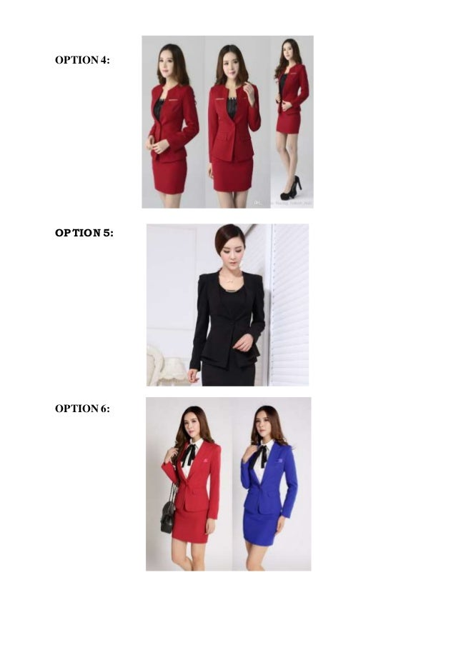 Flight attendant interview dress code.