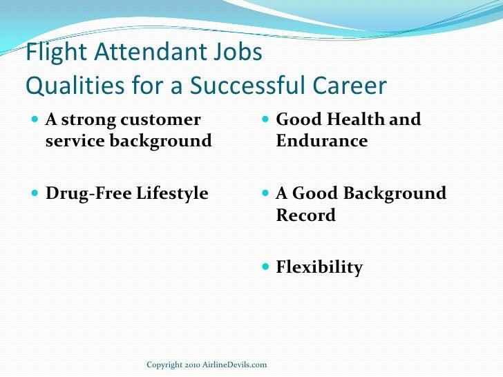 Top 5 Qualities Of A Flight Attendant