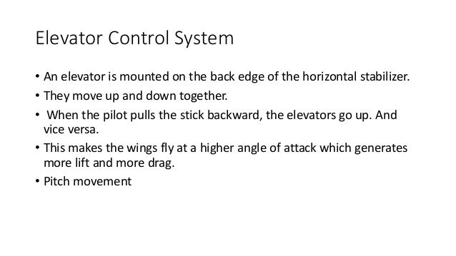 flight control systems Flight control systems market is projected to increase due to the growing demand for latest technology in the modern aircrafts and increasing use of unmanned aerial vehicles.