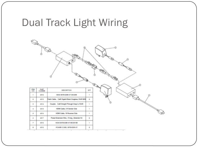 track light wiring