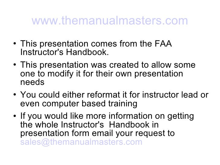 flight instructor human behavior lesson flight instructor human behavior lesson themanualmasters com <ul><li>this presentation comes from the