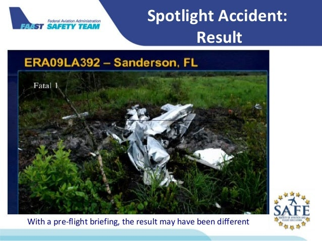 FAA Flight Instructor Ops Forum 2014 - Got Weather?