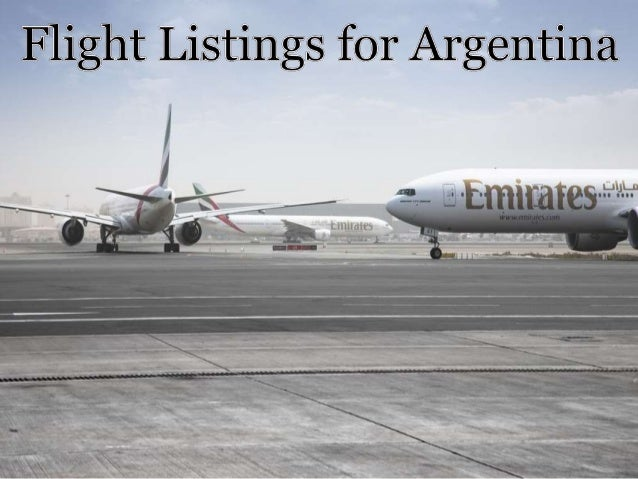 Flights to Different South American Cities