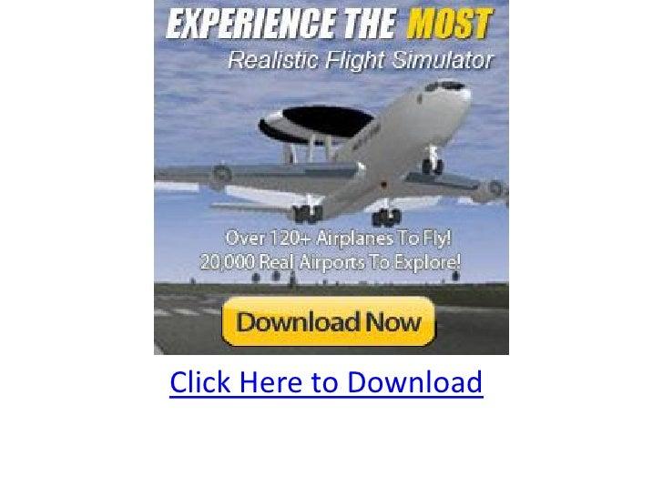 Flight simulator 767