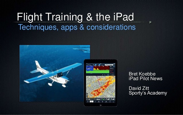 69ea3534553 Flight Training and the iPad
