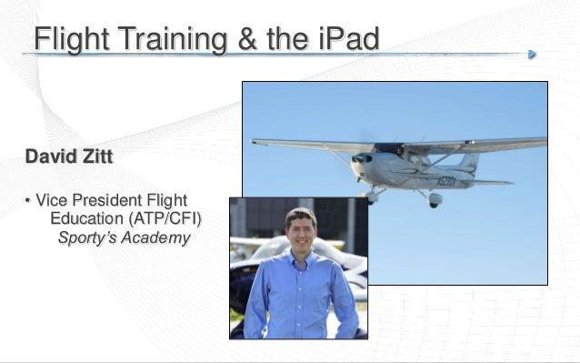 Flight Training and the iPad