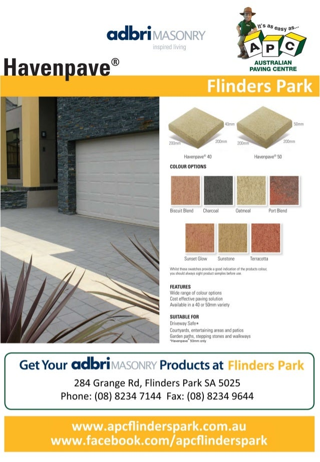 Havenpave FlindersPark APC