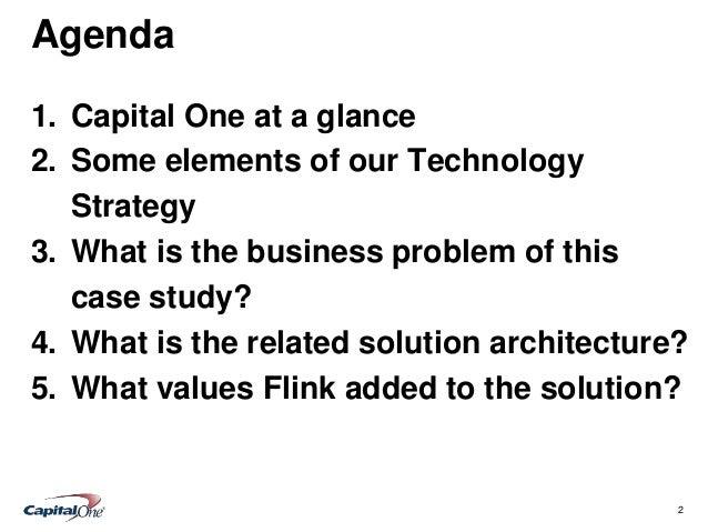 Flink Case Study: Capital One