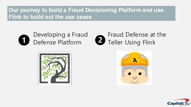 Developing a Fraud Defense Platform Fraud Defense at the Teller Using Flink Our journey to build a Fraud Decisioning Platf...