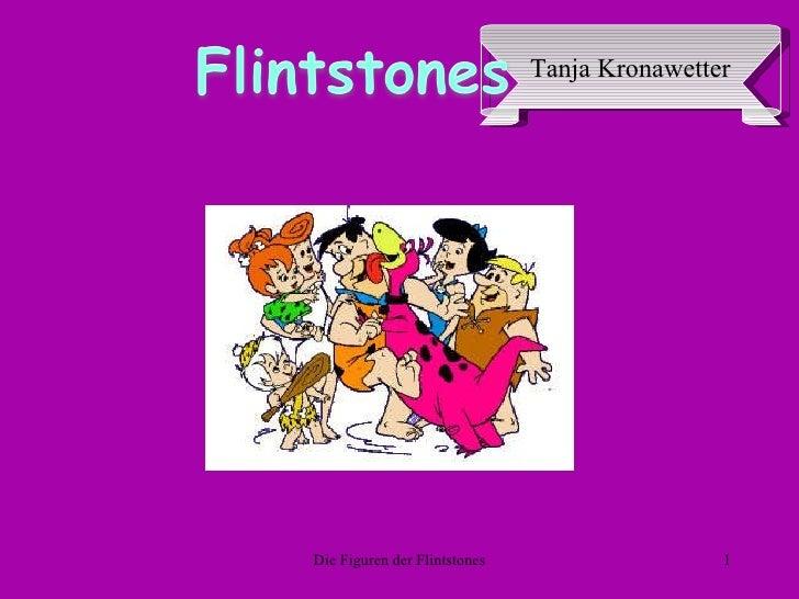 Die Figuren der Flintstones