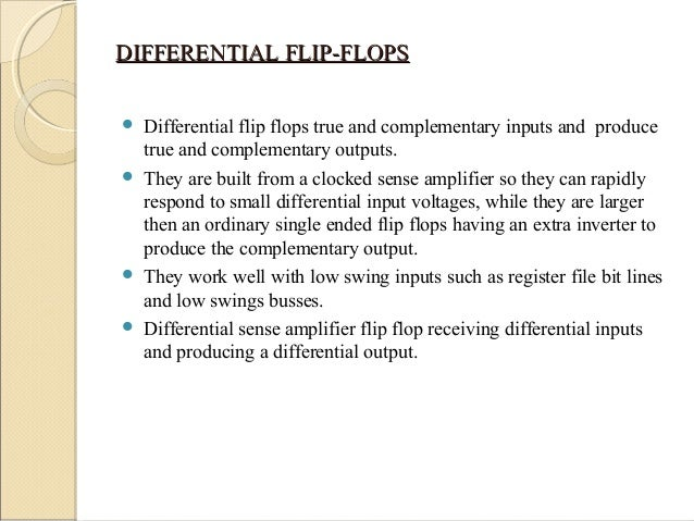 advantages of differential
