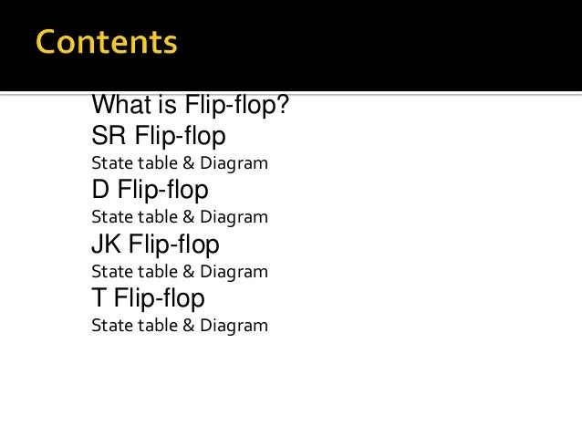 what is flip flop