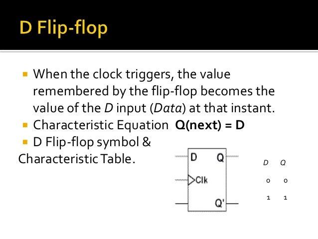 Flip       flop      s state tables   diagrams