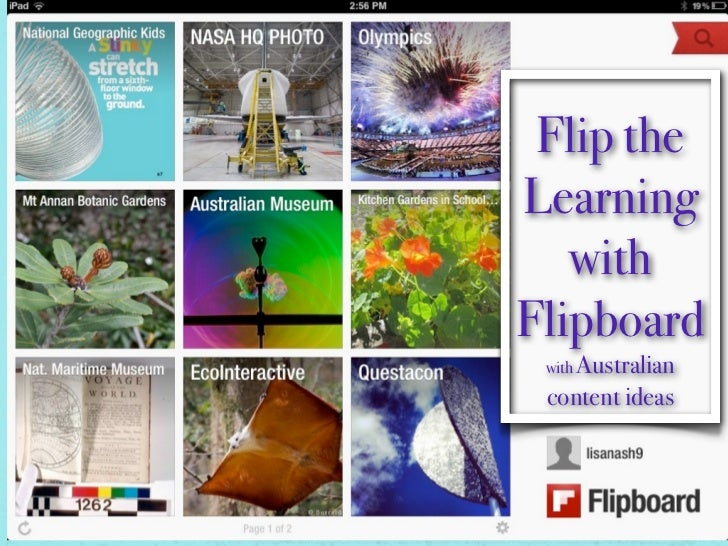 Flip theLearning   withFlipboard with Australian content ideas