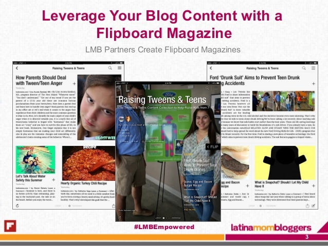 Leverage Your Blog Content with a Flipboard Magazine LMB Partners Create Flipboard Magazines 3 #LMBEmpowered