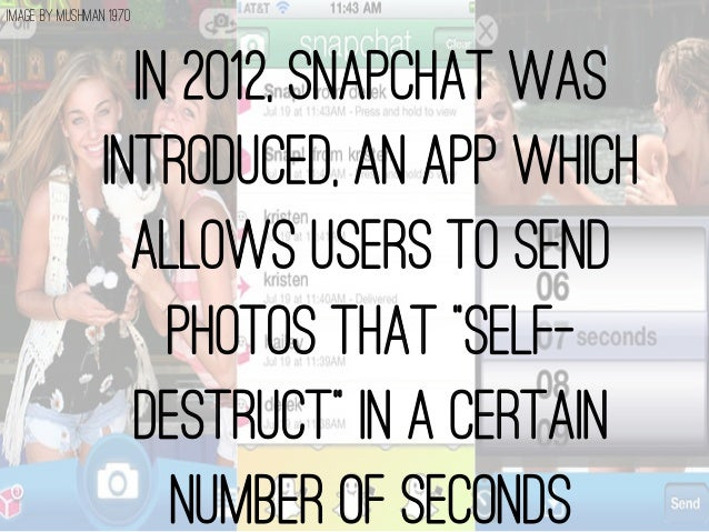 Dangers of sexting on snapchat