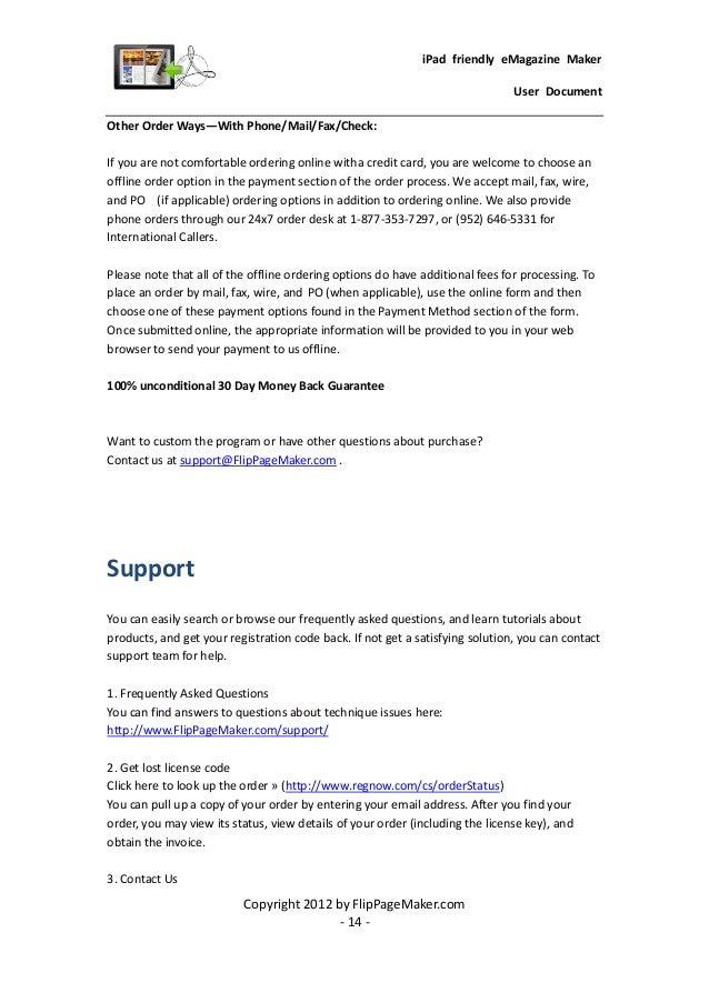 flip book creator for html5 manual
