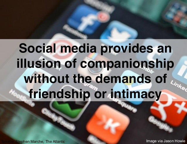 Does social media connect or isolate