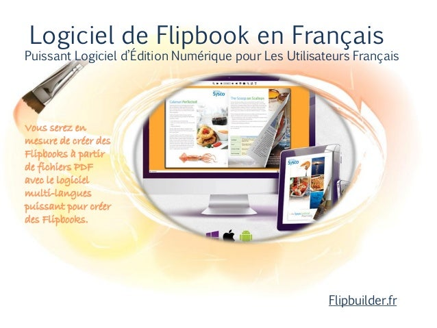 logiciel de flipbook en fran ais puissant logiciel. Black Bedroom Furniture Sets. Home Design Ideas