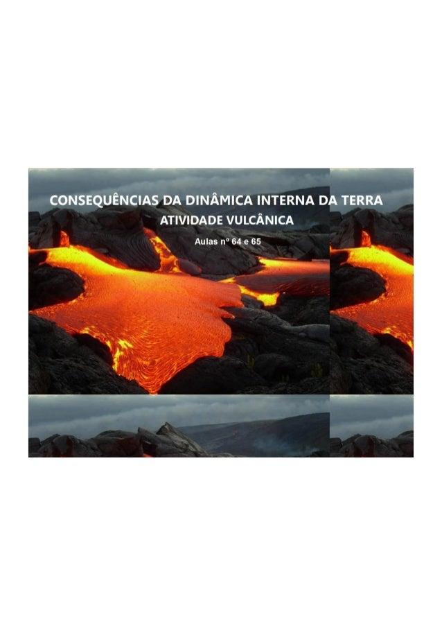 Flipchart vulcanismo