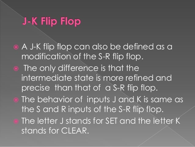 What Are Flip Flops And Its Types