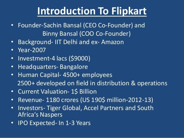 Flipkart Logistic & Supply chain management Slide 3