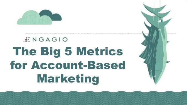The Big 5 Metrics for Account-Based Marketing