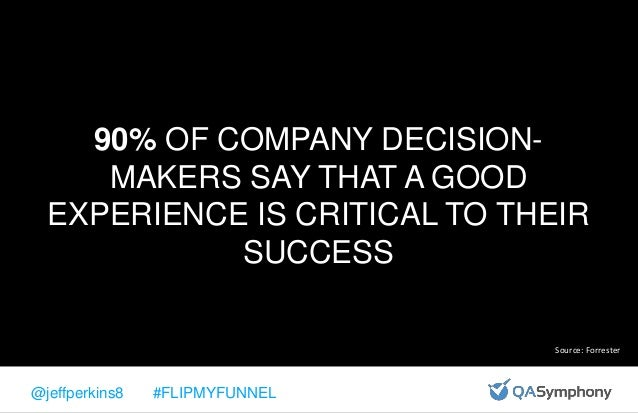 @jeffperkins8 #FLIPMYFUNNEL WHY IS CUSTOMER EXPERIENCE SO IMPORTANT???