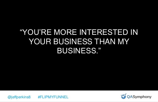@jeffperkins8 #FLIPMYFUNNEL RANDOM THOUGHTS ABOUT CUSTOMER EXPERIENCE 1. IF THE PRODUCT SUCKS, DELIVERING A GREAT CUSTOMER...